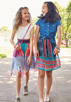 Speechless Printed Dress Collection Girls 7-16