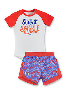 Under Armour® 'I Sparkle' Collection Girls 4-6x