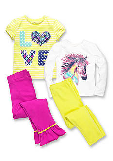 J Khaki® Mix & Match Horse Collection Girls 4-6x