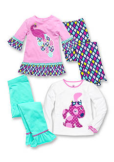 J Khaki™ Mix & Match Peacock Collection Toddler Girls