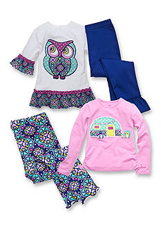 J Khaki™ Mix & Match Owl Collection Toddler Girls