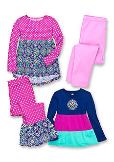 J Khaki™ Mix & Match Dottie Collection Girls 4-6x
