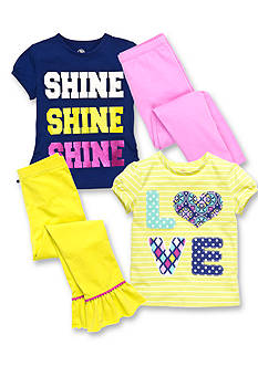 J Khaki™ Mix & Match Love & Shine Collection Toddler Girls