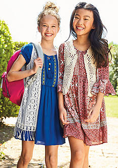 Vested Dresses Collection Girls 7-16