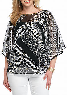 Ruby Rd Plus Size Modern Tribe Collection