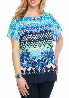 Ruby Rd Plus Size Keepin Cool Collection