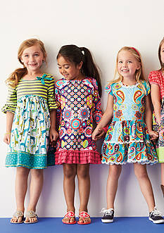 Playful Prints Dresses Collection Girls 4-6x