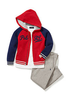 Ralph Lauren Childrenswear Varsity-Inspired Style Collection Toddler Boys