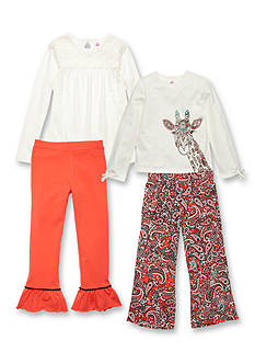 J. Khaki® Mix & Match Giraffe Collection Girls 4-6x