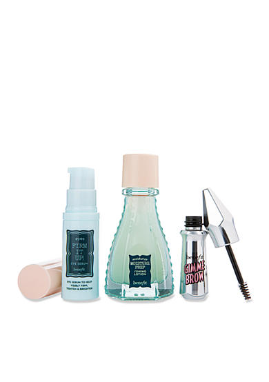 Receive a free 3-piece bonus gift with your $50 Benefit Cosmetics purchase & code