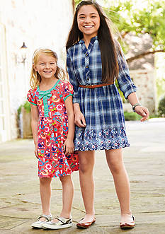 Print & Plaid Dress Collection Toddler Girls, Girls 4-6x and Girls 7-16