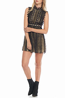 Free People Mock Neck Madness Dress Collection
