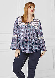 Plus Size Peasant Top Collection