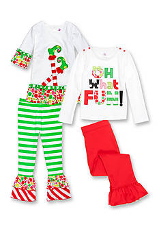 J. Khaki® Mix & Match 'Oh What Fun!' Collection Toddler Girls