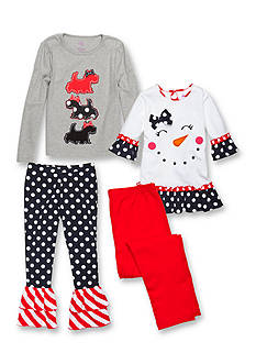 J. Khaki® Mix & Match Snow Scotties Collection Toddler Girls
