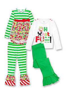 J. Khaki® Mix & Match 'Oh What Fun!' Collection Girls 4-6x