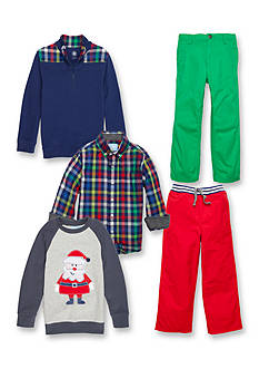 J. Khaki® Mix & Match Santa Collection Boys 4-7