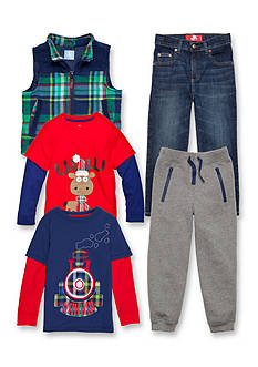 J. Khaki® Mix & Match Moose Collection Boys 4-7
