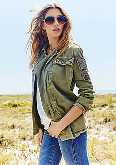 Free People Military Jacket Trend Collection