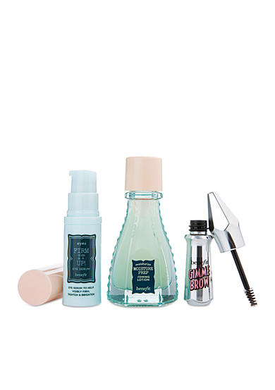 Receive a free 3-piece bonus gift with your $50 Benefit Cosmetics purchase