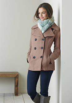 Pea Coats & Scarves Collection
