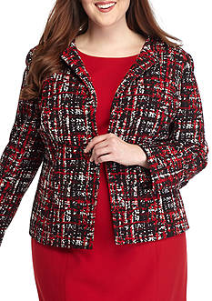 Kasper Plus Size Fire Red Collection