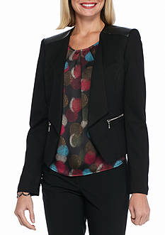 Nine West Black Pant Suit
