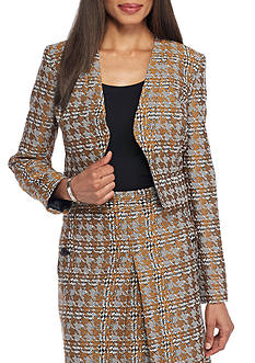 Nine West Houndstooth Skirt Suit