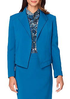 Tahari ASL Gotham Blue Skirt Suit