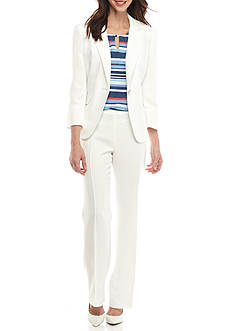 John Meyer Cream Pant Suit