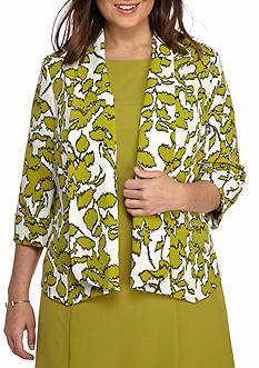 Kasper Plus Size Limezest Dress Suit