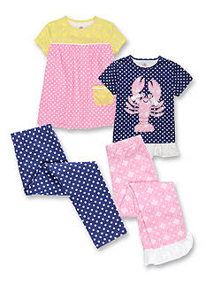 J. Khaki® Mix and Match Lucky Lobster Collection Toddler Girls
