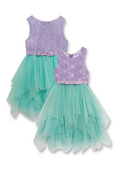 Rare Editions Lace Cascade Sister Dress Collection Girls 4-6x and Girls 7-16