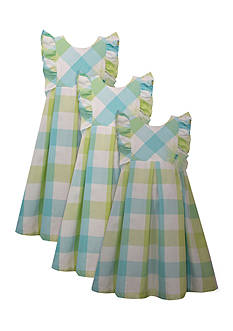 Bonnie Jean Gingham Ruffle Sister Dress Collection Toddler Girls, Girls 4-6x and Girls 7-16