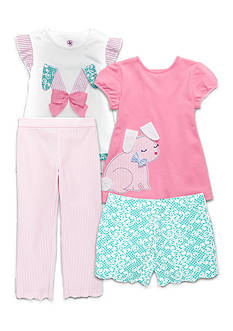 J. Khaki® Mix & Match Funny Bunny Collection Toddler Girls