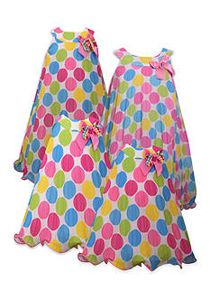 Bonnie Jean Polka Dot Party Sister Dress Collection Girls 7-16, Girls 4-6x, Toddler Girls and Baby Girls