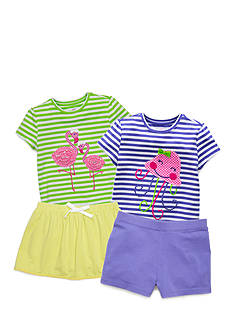 J. Khaki® Mix & Match Flamingo Flair Collection Toddler Girls