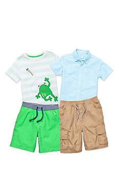 J. Khaki® Mix & Match Froggy Friend Collection Toddler Boys