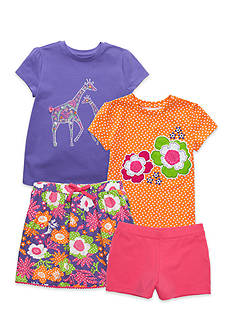 J. Khaki® Mix & Match Flower Power Collection Girls 4-6x