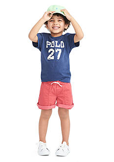 Ralph Lauren Childrenswear Tee Time Collection Toddler Boys