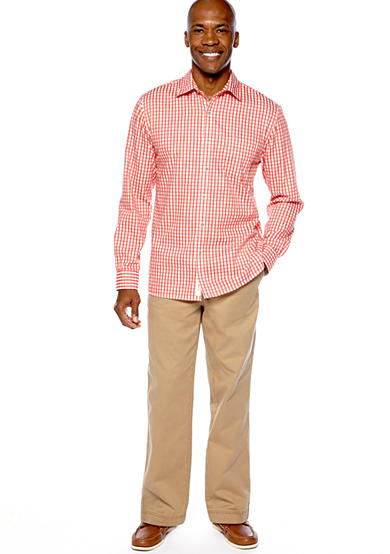 Ocean & Coast® Ocean & Coast™ Some Beach Woven Shirt & Seaside Elastic Waist Pant