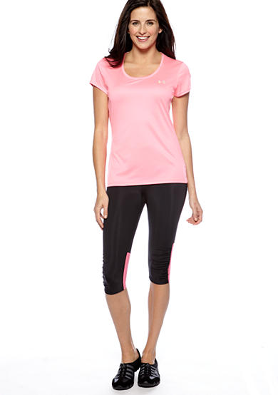 Under Armour® Under Armour Flyweight Run Tee & Fly-by Compression Capri