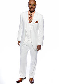 Saddlebred® Classic Fit White Suit Separates