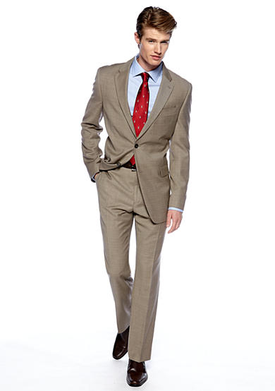 Tommy Hilfiger® Classic Fit Tan Shark Suit Separates