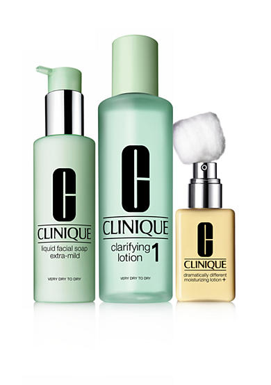 Clinique 3-Step Skin Type 1: Very Dry to Dry