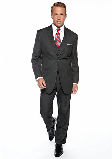 Saddlebred® Saddlebred® Classic Fit Charcoal Suit Separates