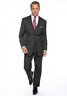 Saddlebred® Classic Fit Charcoal Suit Separates