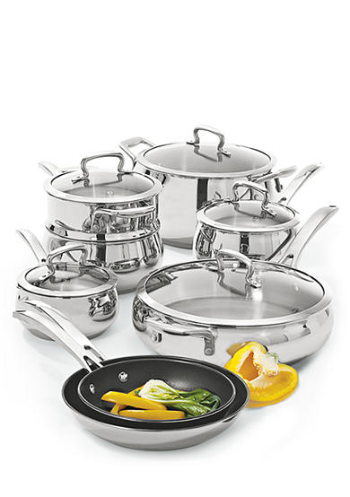 Biltmore® For Your Home Belly Shaped Stainless Steel Cookware