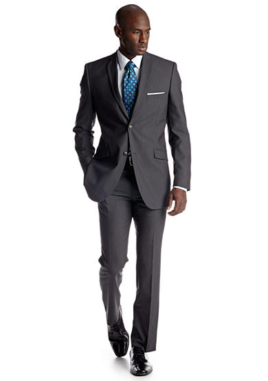Adolfo Slim Fit Charcoal Suit Separates