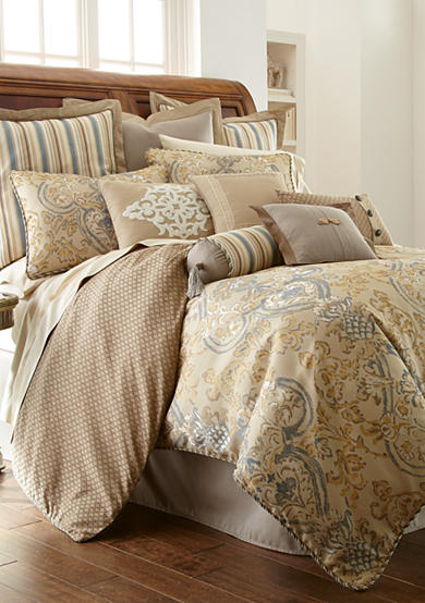 Waterford Harrison Bedding Collection & Kiley Sateen Sheet Set - Online Only